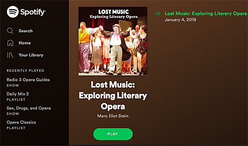 lost music on spotify