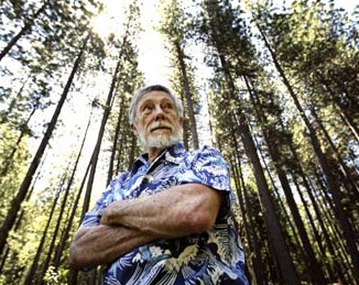 Gary Snyder and some trees
