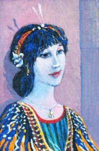 Albertine, a painting from Proust, by David Richardson