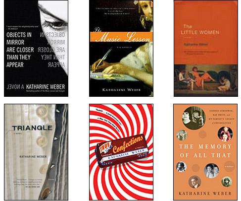 Six books by Katherine Weber