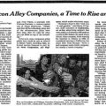 For Silicon Alley Companies, a Time To Rise and Shine! New York TImes article about iVillage IPO 1999