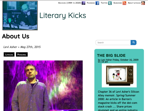 Litkicks About page - 2015