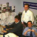 Marc Eliot Stein, Michael Stoeckel and Eduardo Samame at Time Inc New Media/Pathfinder, 1996