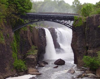Paterson, New Jersey waterfall