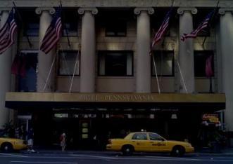 Pennsylvania Hotel in midtown Manhattan