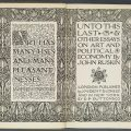 Unto This Last - antique edition of book by John Ruskin